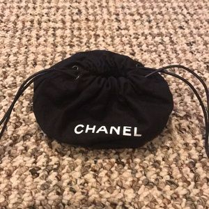 CHANEL Other - Chanel cotton pouch